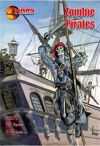 MARS 72070 Pirates Zombies