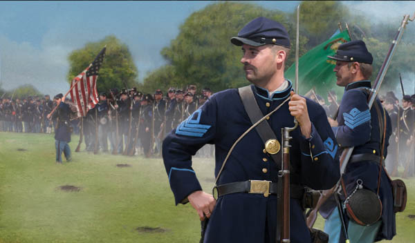 Strelets-R 157 Union Infantry Standing