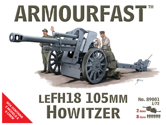 ARMOURFAST 89001 LE FH18 105mm Howitzer