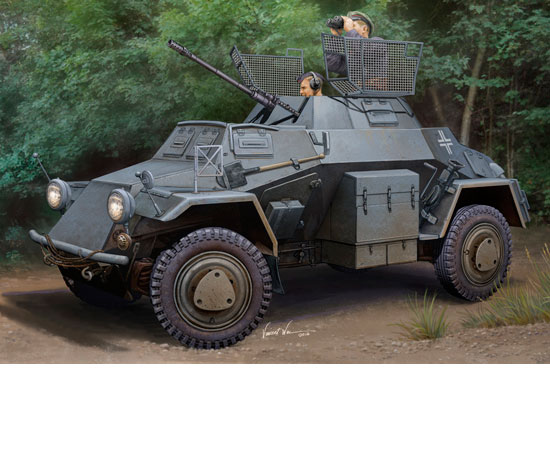 Hobby Boss 83815 German Sd.Kfz.222 (prix promo)
