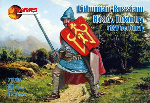 MARS 72066 Lithunian-Russiam heavy infantry XV fox