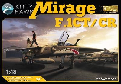 KITTY-HAWK MODEL 80111 MIRAGE F.1CT/CR - ARMÉE DE L AIR - 2001