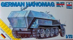 ESCI 8359 German Hanomag SD.KFZ 251/1