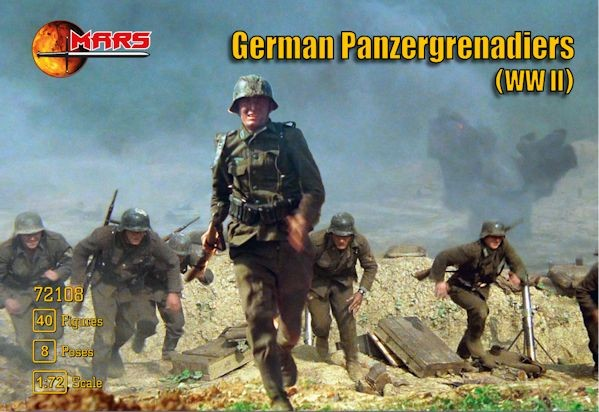 MARS 72108 Panzergrenadiers Allemands
