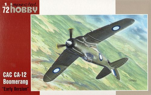 SPECIAL HOBBY 72044 CAC CA-12 Boomerang During WW2