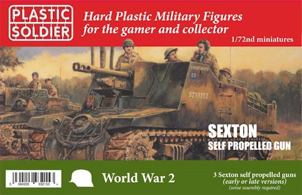 Plastic Soldier WW2V20029 Allied Sexton Self Propelled Artillery