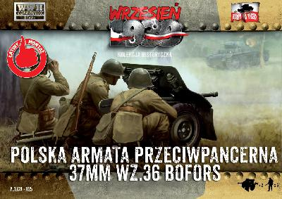 First to Fight 025 CANON ANTI-CHARS POLONAIS WZ.36 BOFORS 37MM