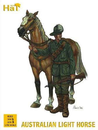 HAT 8153 CHEVAUX LEGERS AUSTRALIENS WW1