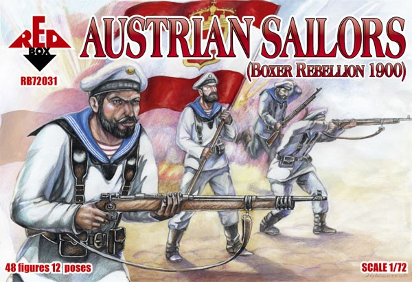 REDBOX 72031 Boxer Rebellion Austrian Sailors