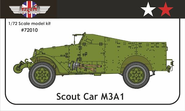 AGB 72010 M3A1 Scout Car USA/USSR