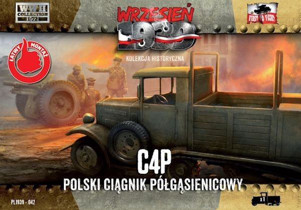First to Fight 042 C4P Polish Halftrack Artillery Tractor