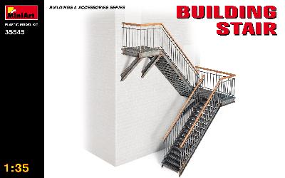 MINIART 35545 ESCALIER METALLIQUE