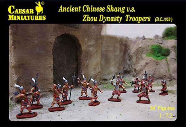 Caesar Miniatures CM029 Ancient Shang chinois vs Zhou Dynasty Troopers