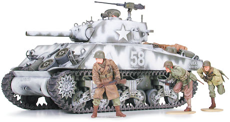 Tamiya 35251 SHERMANN M4A3 105MM