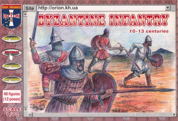 ORION 72044 Byzantine Infantry (10th - 13th Century)