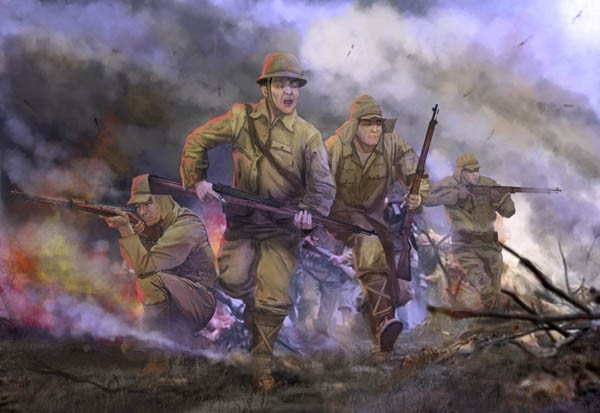 Strelets-R M128 Imperial Japanese Army in Attack