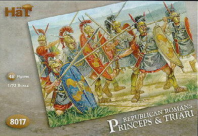 HAT 8017 Republican Romans-Princeps&Triari