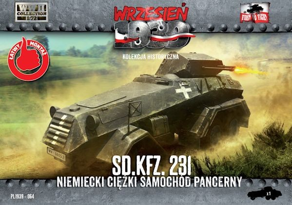 First to Fight 064 German Sd.Kfz.231 Heavy Armored Car