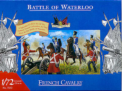Accurates miniatures 7212 Waterloo French Cavalry