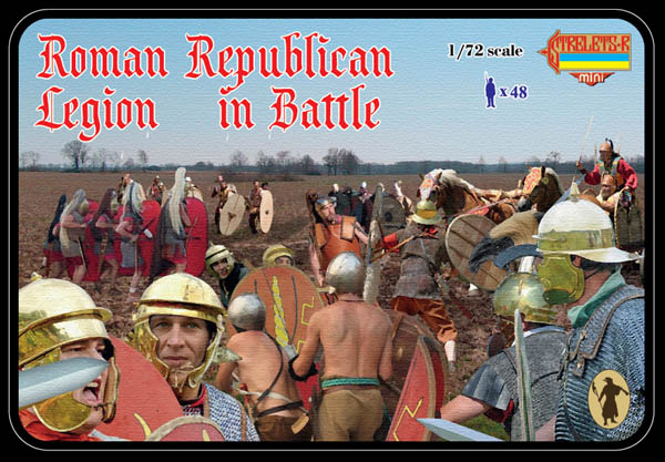 Strelets-R M079 Roman Republican Legion in Battle