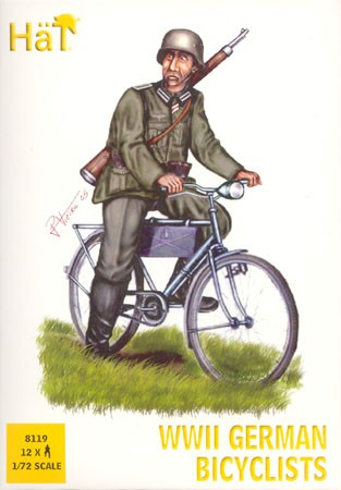 HAT 8119 Cyclistes Allemands WW2