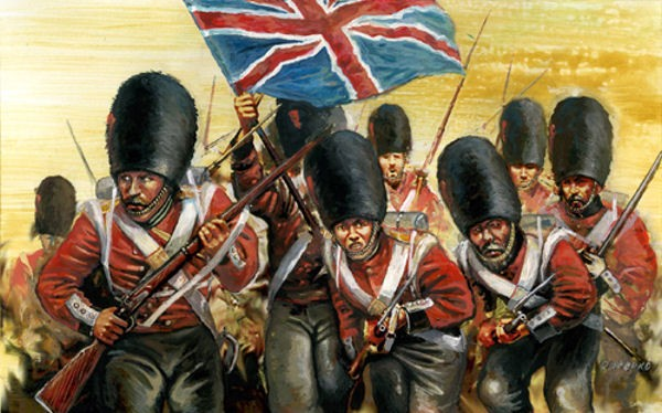 Strelets-R M032 British Grenadiers in Summer Dress