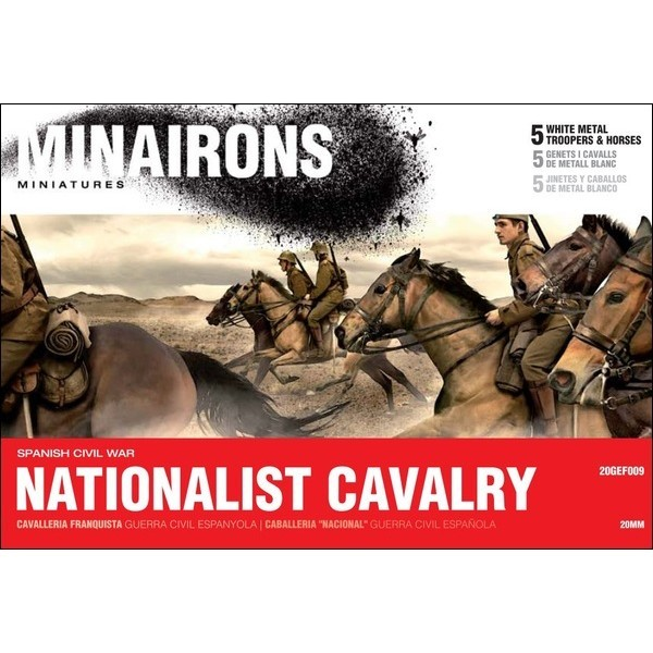 Minairons 20GEF009 Nationalist Cavalry M062