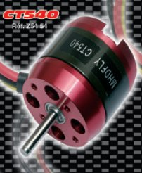Moteur brushless CT540