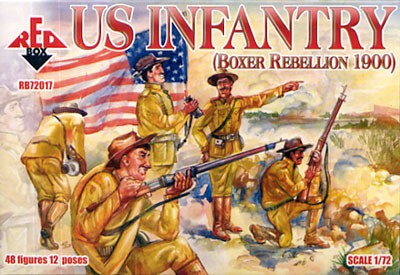 REDBOX 72017 U.S. Infantry, Boxer Rebellion, 1900