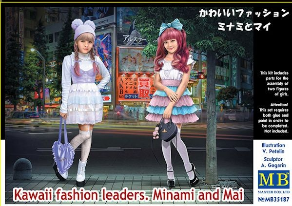 MASTER BOX 35187 Kawaii fashion leaders. Minami and Mai