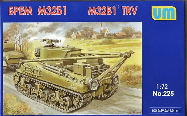 UM 225 M32B1 Sherman Tank Recovery Vehicle