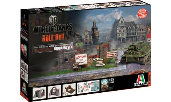 "ITALERI 36505 Set Himmelsdorf ""World of Tanks"""