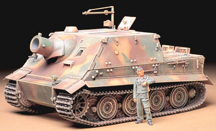 Tamiya 35177 GERMAN 38 cm ASSAULT MORTIER
