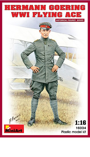 MINIART 16034 H. Goering WWI Ace