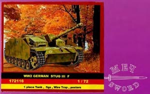 SWORD 172116 WW2 German Stug III F