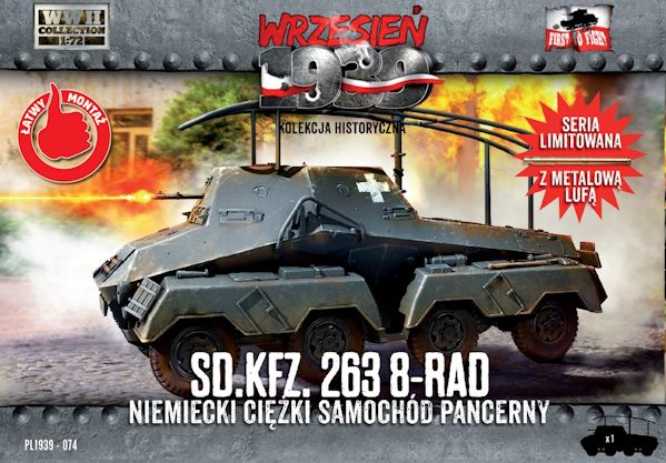 First to Fight 074 Sd.Kfz.263 8-rad