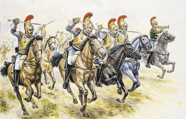 ITALERI 6003 French Heavy Cavalry