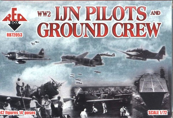 REDBOX 72053 Pilots and Ground Crew, IJN WWII