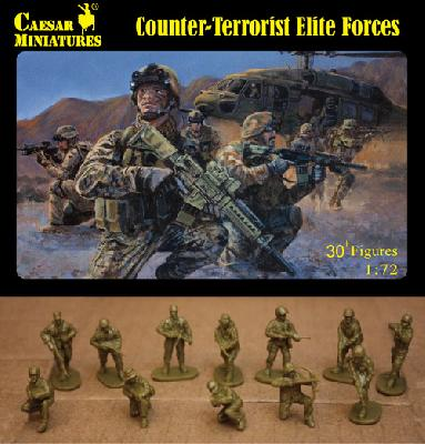 Caesar Miniatures CM082 FORCES D ELITES OCCIDENTALES ANTI-TERRORISTES - AGFHANISTAN 2011