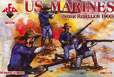 REDBOX 72016 US MARINES ( Rebellion des Boxers) - Chine 1900