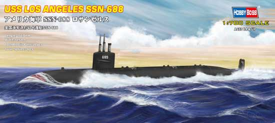 Hobby Boss 87014 Sous-marin Uss SSN 668 lOS ANGELES