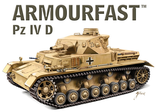 ARMOURFAST 99028 PANZER IV D