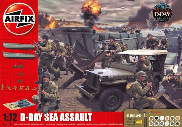 Airfix 050156 Set d'assault D-DAY (réédition)
