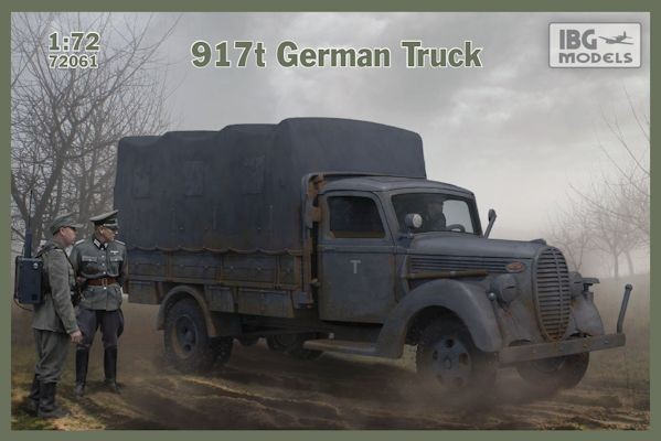 IBG 72061 917t German Truck
