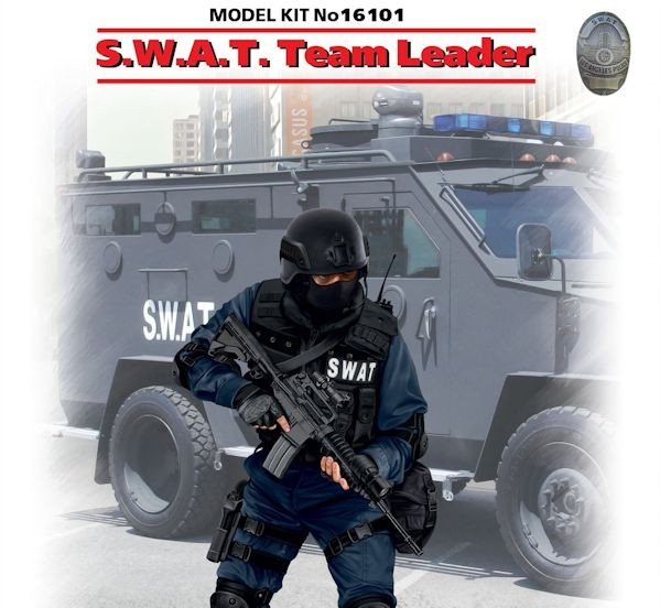 ICM 16101  S.W.A.T. Team Leader (100% new molds)