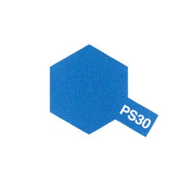 Tamiya PS30 bleu brillant (bombe 100ml)