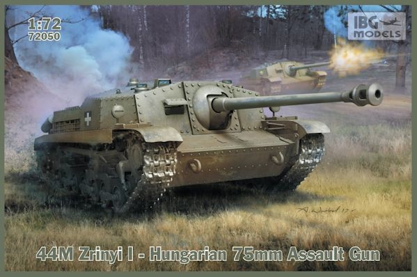 IBG 72050  Hungarian 75mm Assault Gun 44M